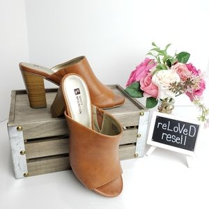 NWOT Open-Toed Mules